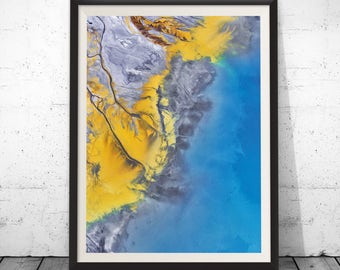 Blue Abstract Print, Abstract Water,  Abstract Ocean Print, Blue Home Decor Wall Art, Abstract Blue Fine Art, Fine Art Blue Abstract