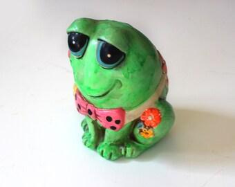Vintage Frog Bank