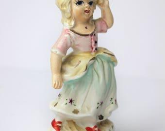 Vintage Napco Safety Dance Figurine