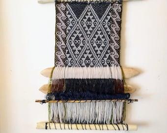 WAYRA wall hanging - small loom