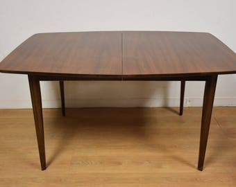 Walnut Mid Century Dining Table