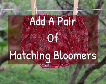 Add a pair of matching bloomers
