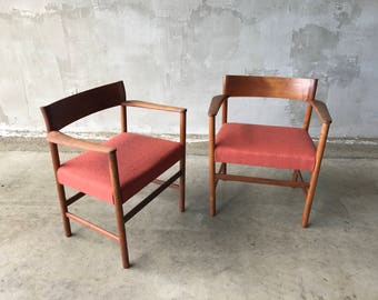Danish style accent chairs
