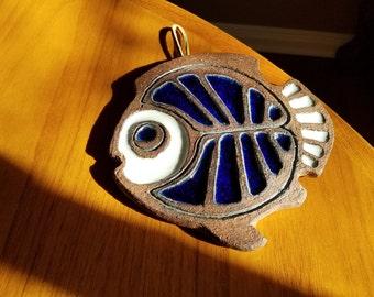 Victoria Littlejohn Ceramics Angel Fish Trivet