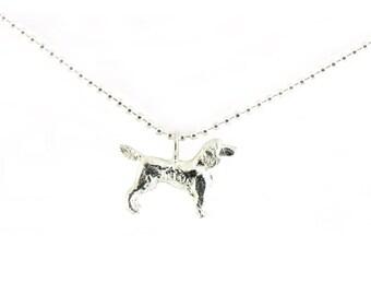 Tiny Spaniel necklace