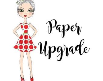 Premium Matte Paper Upgrade - Erin Condren, Happy Planner
