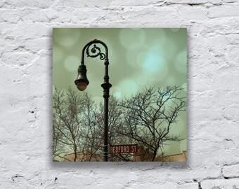 Vintage street lamp, 30 x 30 cm