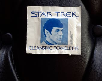 Star Trek Moist Towelette Spock