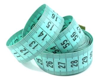 Measuring tailor tape tape tape measure 150 cm Green