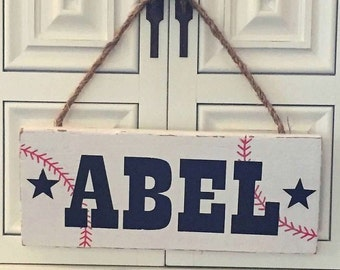 Name sign personalized