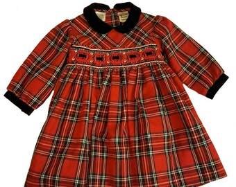 Sarah Louise England baby highland dress scottish dress kilt