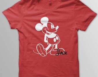 Mickey shirt toddler youth Mickey Mouse shirt mickey t-shirt