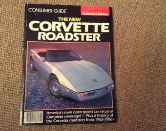 VIN 9 1986 Consumer Guide Magazine The New Corvette Roadstert