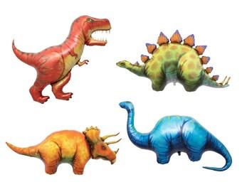 """47"""" Dinosaur Balloons, Jurassic World, Animal Balloons, Dinosaur birthday party, animal birthday party, cool balloon, birthday decoration"""