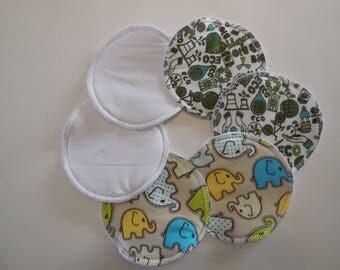 Washable nursing pads, pack of 3