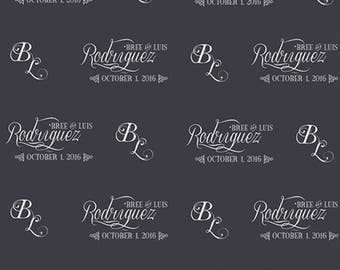 Save the Date Custom Wedding Backdrop (WED-VS-006)
