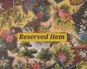 Reserved For Terri -Hand-Painted Dollhouse Miniature Tea Set