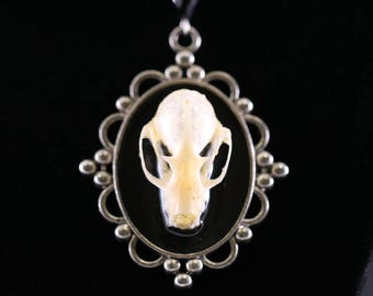 Bat Skull Pendent Necklace