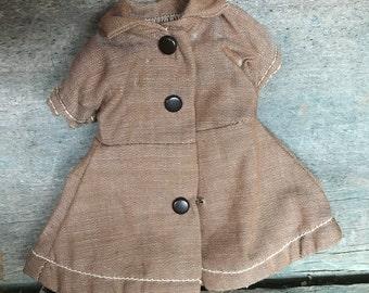 1950s Terri Lee Brownie Doll Dress with Original Tag |  4 inch Terry Lee Brownie Dress