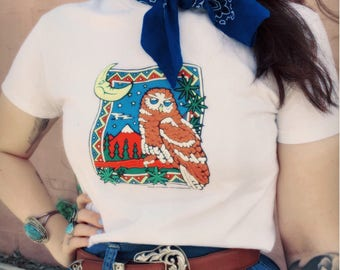Truck Stop Vibes - Vintage Southwest Graphic T-Shirt