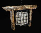 Suet Bird Feeder handmade...