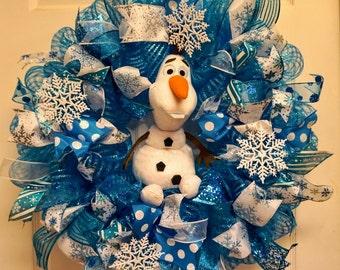 Items Similar To Ready To Ship Olaf Frozen Snowman Door
