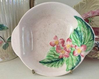 Carltonware pottery floral dish