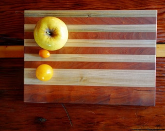 Cherry + Poplar cutting board
