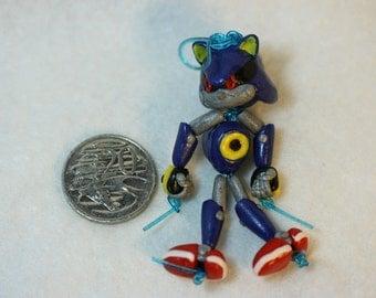 Metal Sonic Bead-Doll (Polymer Clay)