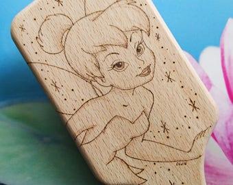 Wooden Disney Hairbrush