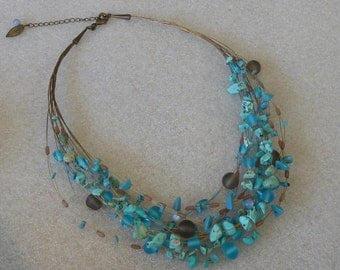 Vintage Turquoise Coldwater Creek Necklace