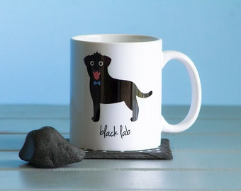 Black Lab Mug (boy)