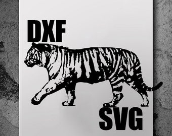 Tiger Svg, svg files, silhouette cameo, svg cutting, svg file, silhouette files, cutting files, dxf files, cut files, svg cutting files