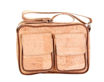Cork, Cork pocket and shoulder bag handbag