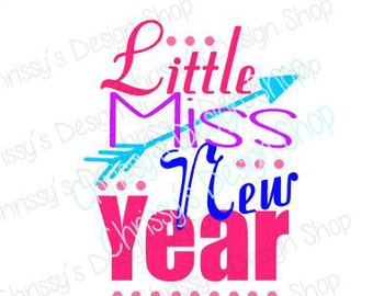 New Year SVG / Happy new year svg / resolution svg / baby new new year svg / New Years clip art / Holiday clip art / new years cut file