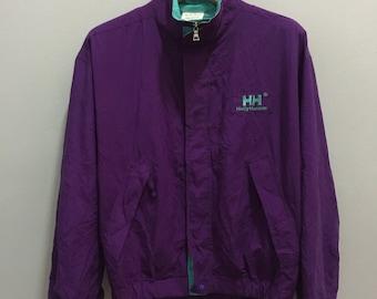 Vintage Helly Hansen Norway Multicolor Jacket Zipper