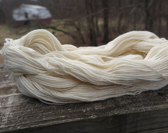 Bare Merino Sport Weight Yarn, undyed yarn, dyeable yarn