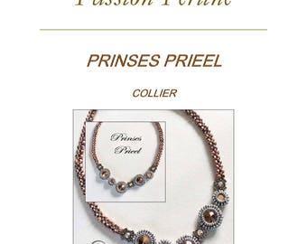 Pattern necklace PRIEEL