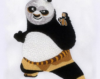 Fast and Flawless Kung Fu Panda Embroidery Design