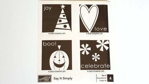 Image result for stampin up say it simply