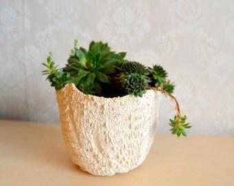 handmade ceramics, flowerpot, rarity, present