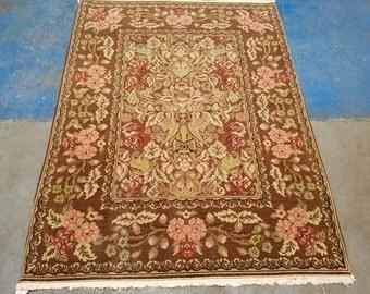 Eastern European carpet 4.6x6