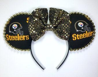 Steelers Football Mouse Ears