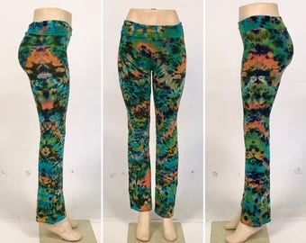 Coral Reef Yoga Pants - Size Small