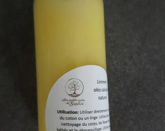 Liniment oil limestone natural /nettoyant rash for baby/moisturizer