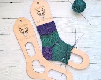 wooden sock blockers-Wooden Sock Forms-Blockers Knitting Board-Sock Stretchers Wooden-Knitted socks-Wooden Sock Shapes-Hand Knit Socks