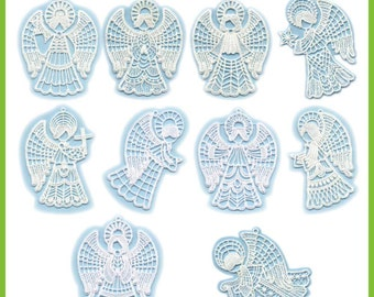 Free Standing Lace Angels