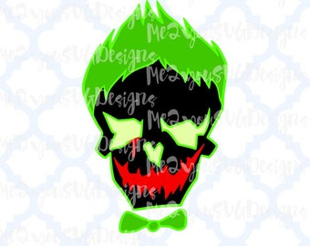 Joker Skull SVG,EPS,Png,Studio