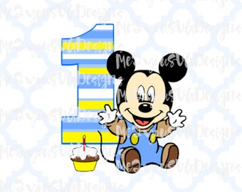Baby Mickey SVG,EPS,PNG,Studio