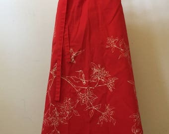 1970's Flamstead of Vermont  Wrap Skirt
